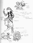 Submerged: Aqua Grunt and Shelly Concept Designs by Bryce1350