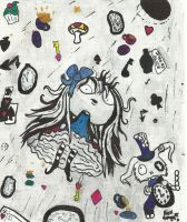 Once upon a Horror-Alice in wonderland alice falls by Lttle-Horrors