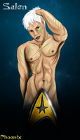 Vulcan Pin Up by Phoenix-Cry