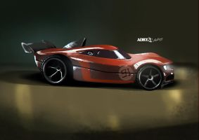 Vehicle Rendering Study #1 by Adry53