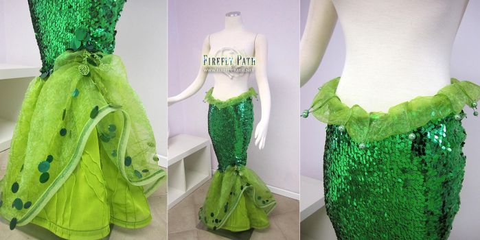 Ariel Fabric Tail by Firefly-Path