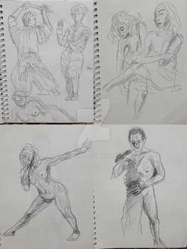 Figure Drawings by RhodArt