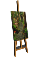 Easel by chamirra