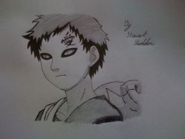 Gaara from Naruto by captonstu