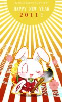 Happy New Year 2011 by Kaze-Hime