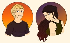 Atlas and Athena busts by ThirdPersonSymphony