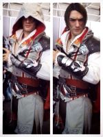 First Preview Go Pro - Ezio Auditore Cosplay AC2 by LeonChiroCosplayArt