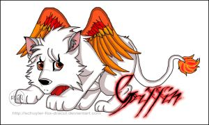 Puppy Griffin by InvisibleRainArt