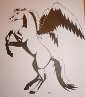 Pegasus by Erry