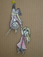 POTC paper children- Will and Elizabeth by trickster201