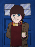 Doctor Who by uber-larry