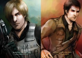 RE: Damnation - Leon and Buddy by WinglyC