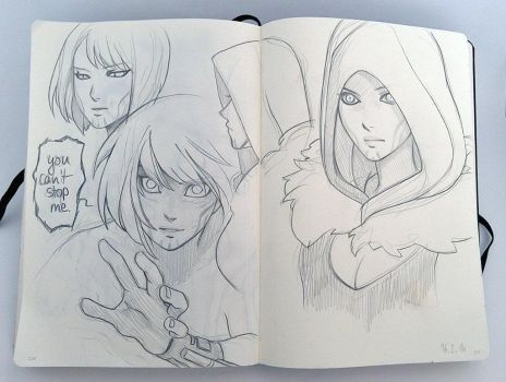 Sith Sketches by Zombiesmile