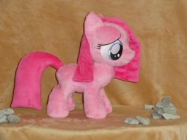 Pinkamena Diane Pie Filly by WhiteDove-Creations