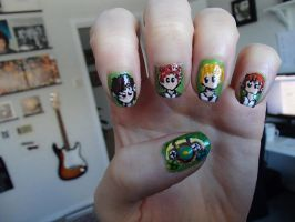 Hobbit Nails by EnelyaSaralonde