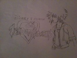 Sora Kingdom Hearts 1 by CutieChloeGal