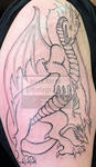 Dragon Tattoo - Session 1 - Round 2 by pure-faces