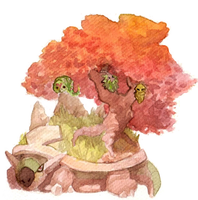 Autumn Torterra by SoraAkihiru