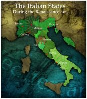Civilization 5 Map: Italy by sukritact