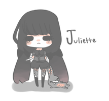 OC: juliette by pinkbunnii