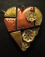 Steampunk Heart: Filigree by Cevangel