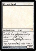 MtG Cards - Weeping Angel by E-n-S
