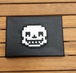 Undertale: Sans- Hama Canvas by Dogtorwho