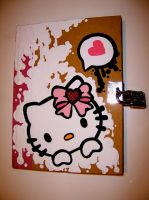.hello kitty diary. by oO-violetta-Oo