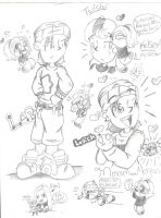 Rocket Power sketches by MushRoomRobot