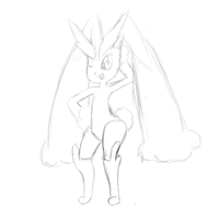Lopunny sketch by sweetinsanity364