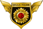Brave Police Crest - Main by Erilmadith-Everyoung