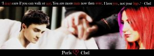 Paris and Chel by MusaRiven