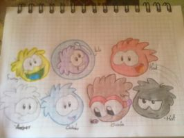 mis puffles by CPCrazyvamp