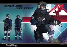 Quarantine Rangers Authority - Commission by EvenSkarangerArt