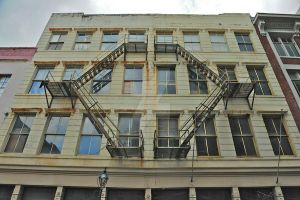 Fire Escape by Raysperspective