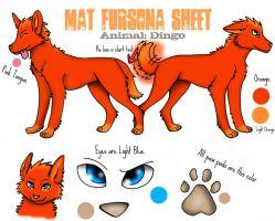 Mathew Reference Sheet DINGO by Dragon-V0942