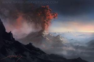 Eruption by samburley