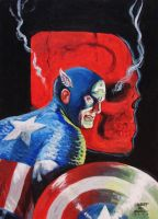 Captain America :The Red Skull by WestStudio3