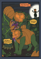 Servants of the Hallow-Qween p6 by Stevan29