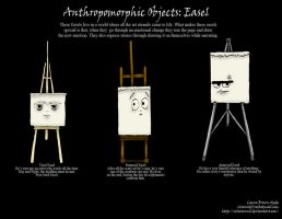 Anthropomorphic Objects-Easel by Velairennil