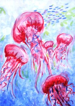 jellies by tends2deviate