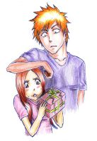 Happy Birthday Orihime by LuisaBenedetti