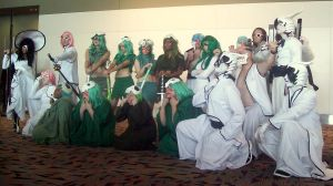 Otakon 2010 Bleach Espada by DoctorTonyStarkWho