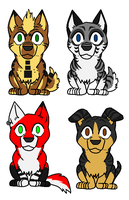 Chibi Ginga Gifts.2 by Matto-Sakujo