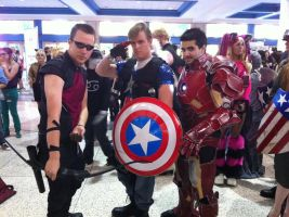 The Avengers Cosplay MetroCon 2012 by KcKreations