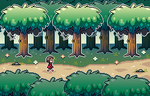 Walk in Forest - Pixel by CuriousPixel