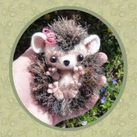 Baby Hedgehog by peggytoes