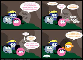 SC230 - Most Dangerous Game 30 by simpleCOMICS