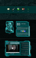 Simple Tech Web Layout by mikethedj4