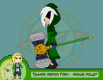 Heroes as Arms - Hokage Mallet by Dragon-FangX